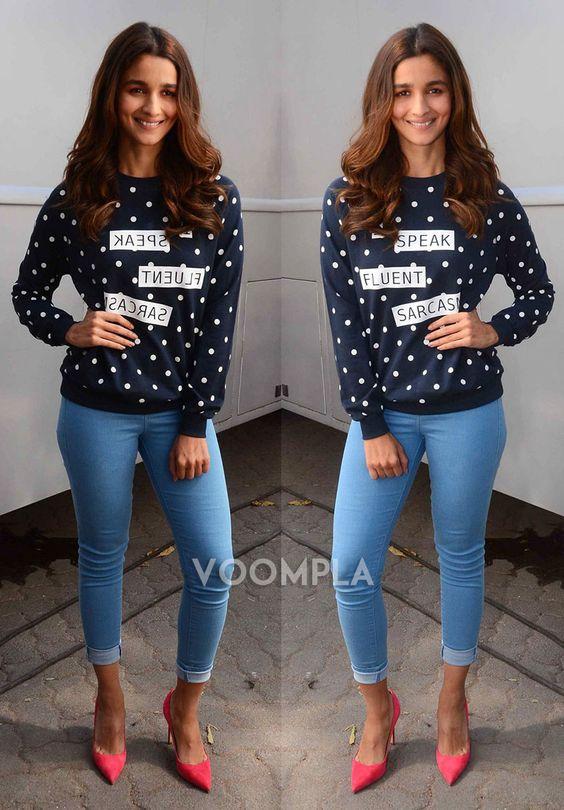 ali bhatt denim jeans tshirts available online