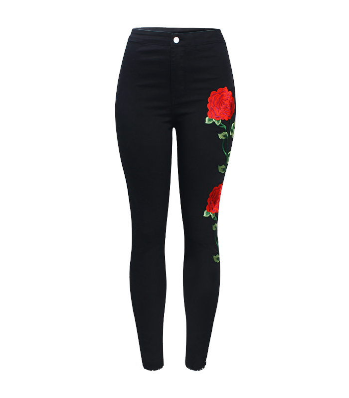 embroidery Black Jeans buy online india