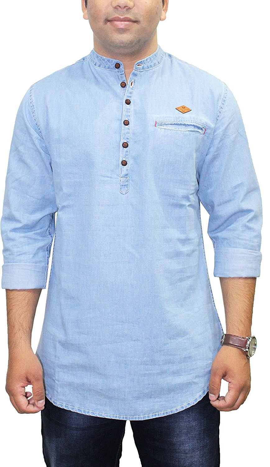 Long Sleeve Denim Shirts For Men | Denim Shirts for men