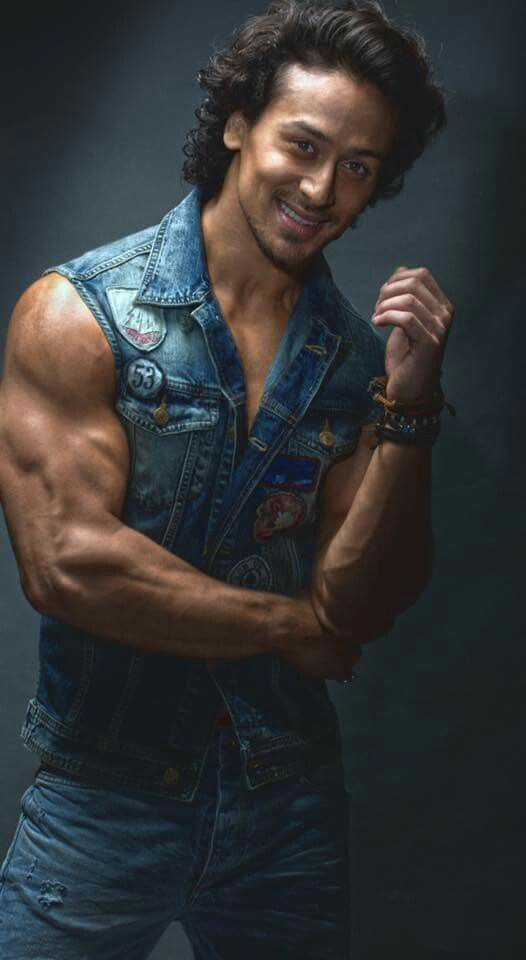 tiger shroff denim shirt